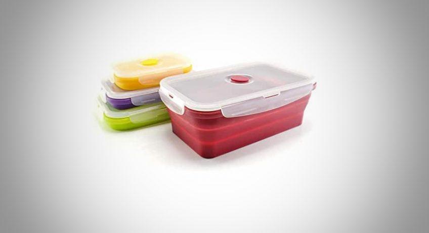 boîte alimentaire pliable